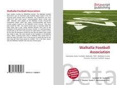 Capa do livro de Walhalla Football Association