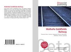 Couverture de Walhalla Goldfields Railway