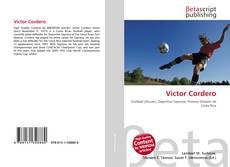 Portada del libro de Víctor Cordero