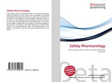 Capa do livro de Safety Pharmacology