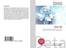 Bookcover of Yasir Ali