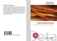 Bookcover of Safia, Burkina Faso
