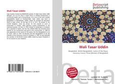 Wali Tasar Uddin的封面