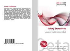 Buchcover von Safety Statement