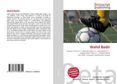 Copertina di Walid Badir