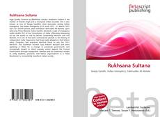 Bookcover of Rukhsana Sultana