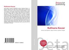 Portada del libro de Rukhsana Kausar