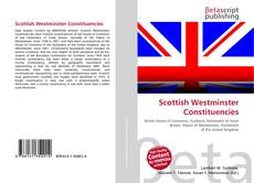 Scottish Westminster Constituencies kitap kapağı