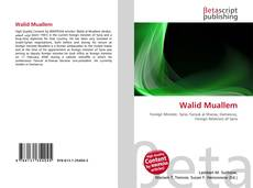 Copertina di Walid Muallem