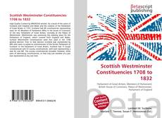 Scottish Westminster Constituencies 1708 to 1832 kitap kapağı