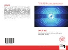 Bookcover of COOL 3D