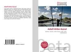 Bookcover of Adolf-Hitler-Kanal