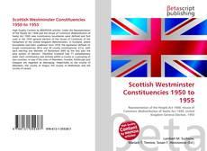Buchcover von Scottish Westminster Constituencies 1950 to 1955