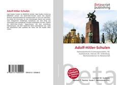 Bookcover of Adolf-Hitler-Schulen