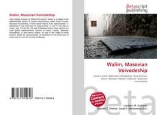 Portada del libro de Walim, Masovian Voivodeship