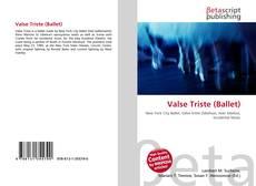 Capa do livro de Valse Triste (Ballet)
