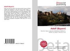 Portada del libro de Adolf (Bayern)