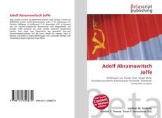 Bookcover of Adolf Abramowitsch Joffe