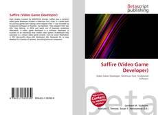 Capa do livro de Saffire (Video Game Developer)