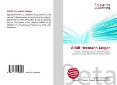Bookcover of Adolf Hermann Jaeger