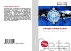 Computational Humor kitap kapağı