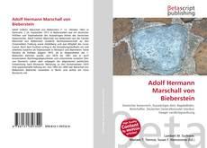 Bookcover of Adolf Hermann Marschall von Bieberstein