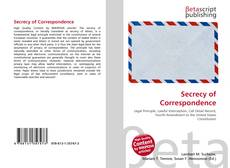 Bookcover of Secrecy of Correspondence