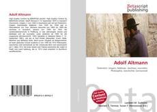Portada del libro de Adolf Altmann