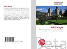 Bookcover of Adolf Angst