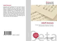Portada del libro de Adolf Arenson