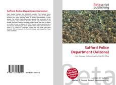 Portada del libro de Safford Police Department (Arizona)