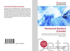 Bookcover of Permanent Resident (Canada)