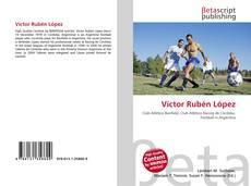 Portada del libro de Víctor Rubén López