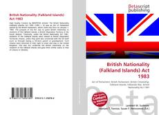 Bookcover of British Nationality (Falkland Islands) Act 1983