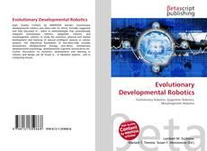 Bookcover of Evolutionary Developmental Robotics
