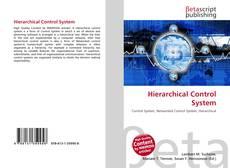 Borítókép a  Hierarchical Control System - hoz