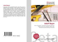 Bookcover of Adolf Bayer