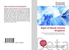 Bookcover of Right of Abode (United Kingdom)