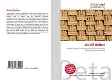 Adolf Behne kitap kapağı
