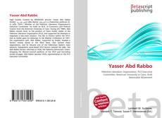 Portada del libro de Yasser Abd Rabbo