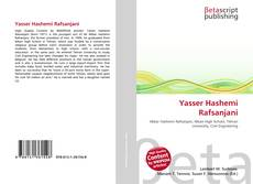 Portada del libro de Yasser Hashemi Rafsanjani