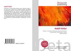 Bookcover of Adolf Hitler