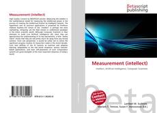 Bookcover of Measurement (intellect)