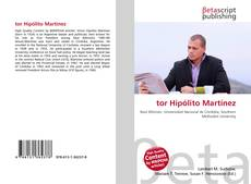 Bookcover of tor Hipólito Martínez