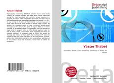 Bookcover of Yasser Thabet