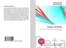 Portada del libro de Yasser al-Azma