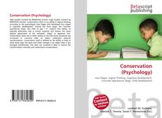 Bookcover of Conservation (Psychology)