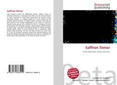 Borítókép a  Saffron Terror - hoz