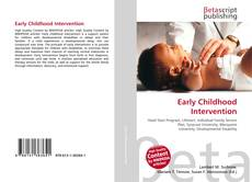 Bookcover of Early Childhood Intervention