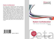 Bookcover of Radom Confederation